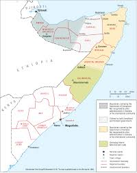 Map Of Somalia The Islamic State Threat In Somalia U0027s Puntland State U2013 Revista De