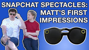 bench spectacles snapchat spectacles matt s first impressions youtube