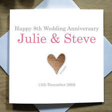 for personalised anniversary made cards ebay