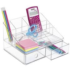 Pen Organizer For Desk Amazon Com Mdesign Desk Organizer For Scrapbooking Supplies