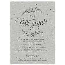 Wedding Invitations Under 1 Seeds Of Love Plantable Wedding Invitation Plantable Wedding