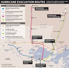 New Orleans Metro Map by Hurricane Info Gretna Police Department