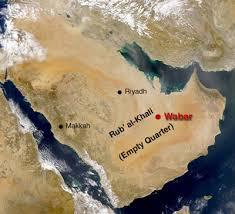 rub al khali map saudi arabia how empty is the empty quarter bedu