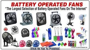 battery operated electric fan the largest collection of battery operated fans on the market