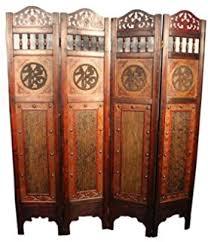 amazon com vintage oriental style 6 panels screen room divider