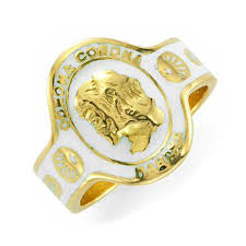cartier rings images Fd gallery an enamel and gold cigar band ring by cartier jpg