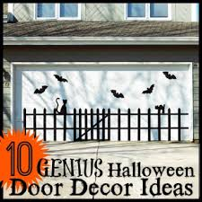 genius halloween door decor ideas tipsaholic