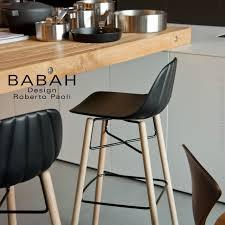 tabouret cuisine bois tabouret de bar design babah wood 80 pieds bois naturel assise