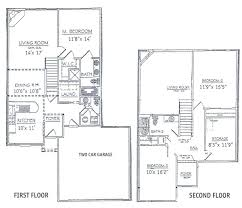 1 1 2 story floor plans 3 bedrooms floor plans 2 story bdrm basement the two three