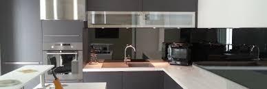 cr ence en miroir pour cuisine credence en verre cuisine mulhouse pour newsindo co