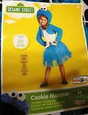 Cookie Monster Halloween Costume Toddler Monster Girls Infant U0026 Toddler Costumes Ebay
