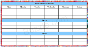 9 best images of blank itinerary printable activities weekly
