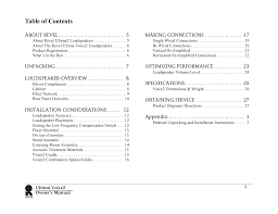 pdf manual for revel speaker ultima salon