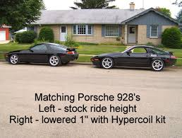 porsche 928 aftermarket parts hypercoil performance kit for the porsche 928 from 928