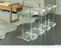 lucite coffee table ikea round acrylic coffee table croosle co