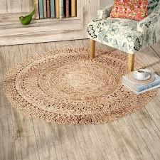 august grove bluebell fiber hand woven natural area rug u0026 reviews