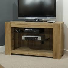 Oak Tv Cabinets With Glass Doors Solid Oak Country Style Corner Tv Stand Cabinet 41 The For Tv