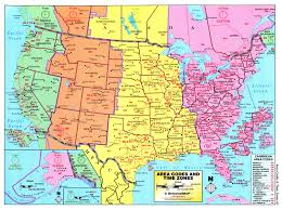 canadian map with time zones usa area code and time zone wall map mapscom filearea codes time