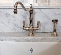 Colored Kitchen Faucet What Looks Good With Carrara Marble U2013 Interiors For Families