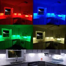 counter kitchen cabinet lights led smart cabinet lighting dimmable counter