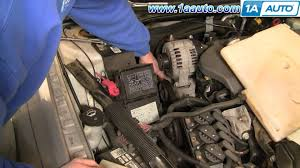 how to install repair replace serpentine engine belt chevy impala