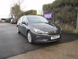 vauxhall grey used vauxhall astra hatchback 1 0 i ecoflex turbo tech line