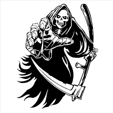 halloween wall art online get cheap grim the reaper decals aliexpress com alibaba