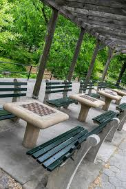 tables in central park new york city central park chess tables editorial image image of