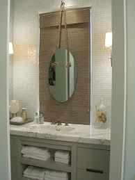 vintage bathroom with palm tree bathroom curtain decor ideas and