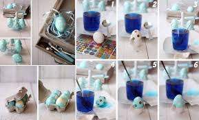 Diy Easter Decorations With Paper by Diy Polka Dot Easter Eggs Find Fun Art Projects To Do At Home