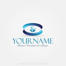 create a template logo make your globe eye logo design eye