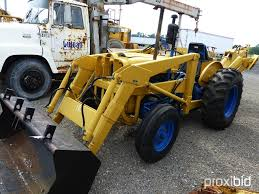 ford 4000 industrial tractor identification