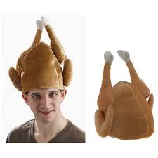 thanksgiving turkey hat set of 3 plush roasted turkey hat thanksgiving dinner chef