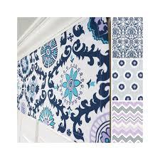 navy blue window valance grey valance lavender valance blue