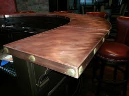 Cheap Home Bars by Home Bar With Copper Top Rdcny
