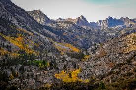 bishop bursting fall colors peek peak