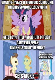 Mlp Fim Meme - mlp fim logic on everyone by keyblademagicdan on deviantart