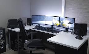 Top 96 Kick Home Office Setups by Hack U0027n U0027 Mods Superhero Dual Monitor Mac Desk Setup Computer