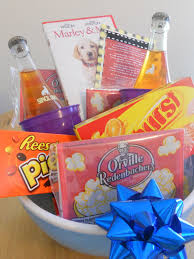 date gift basket ideas lights doodles