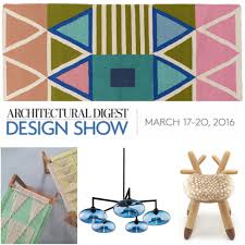 get ready for the 2016 architectural digest design show design milk