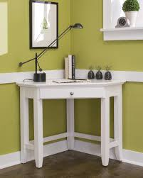 Modern Entryway Furniture by White Painted Corner Entryway Furniture Comes With Veneer Wooden