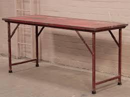 metal folding table outdoor vintage metal folding table red vintage tables desks