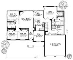 5 bedroom house plans 1 story this most effective 1 story 5 bedroom house plan ahomeplan