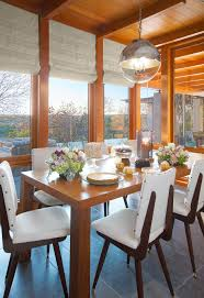 The Circular Dining Room by Circular Light Fixture Dining Room Traditional With Centerpiece