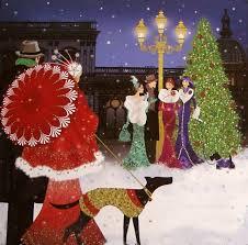 924 best chrimbo images on pinterest art deco art christmas