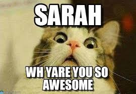 Sarah Memes - sarah sarah meme on memegen