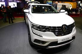 renault koleos 2016 interior renault premiere of all new koleos and koleos initiale paris