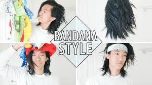 feather hair styles for men bandana hair tutorial mens summer style youtube
