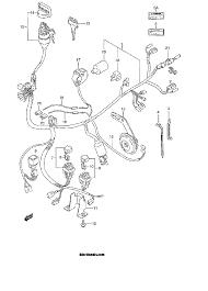 1999 suzuki king quad 300 4wd lt f300f wiring harness model x y