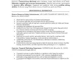 Human Resource Resumes Download Human Resources Resume Examples Haadyaooverbayresort Com